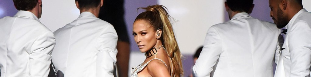 Jennifer Lopez na żywo podczas The Fashion Rocks