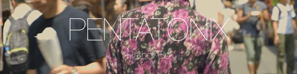 """Amerykański zespół Pentatonix prezentuje cover do piosenki """"Rather Be"""""""