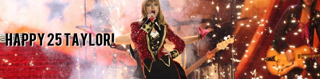 Taylor Swift kończy dziś 25. lat! Wszystkiego Naaajlepszego!