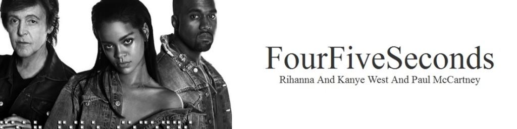 Rihanna ft. Kanye West & Paul McCartney w jednym teledysku!