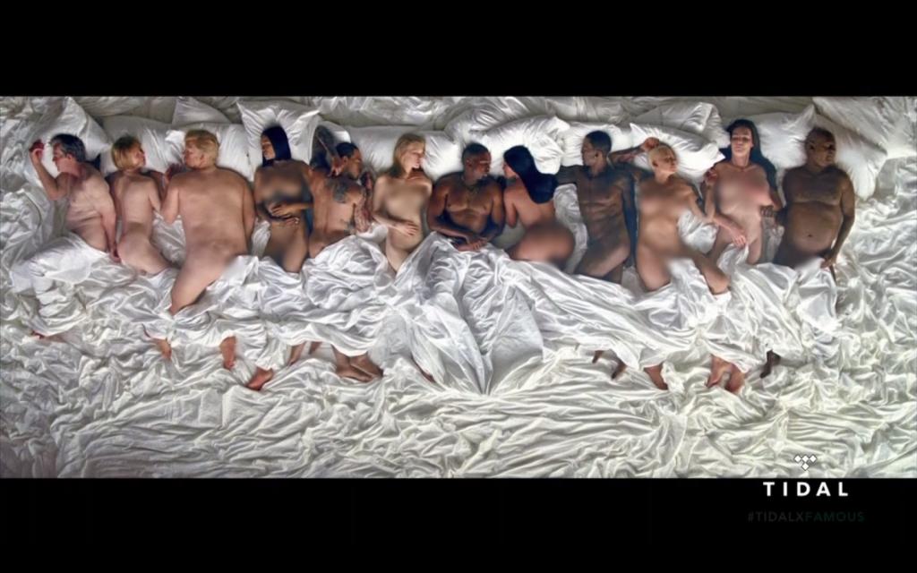 """Kanye West prezentuje niecodzienny teledysk do singla """"Famous""""!"""