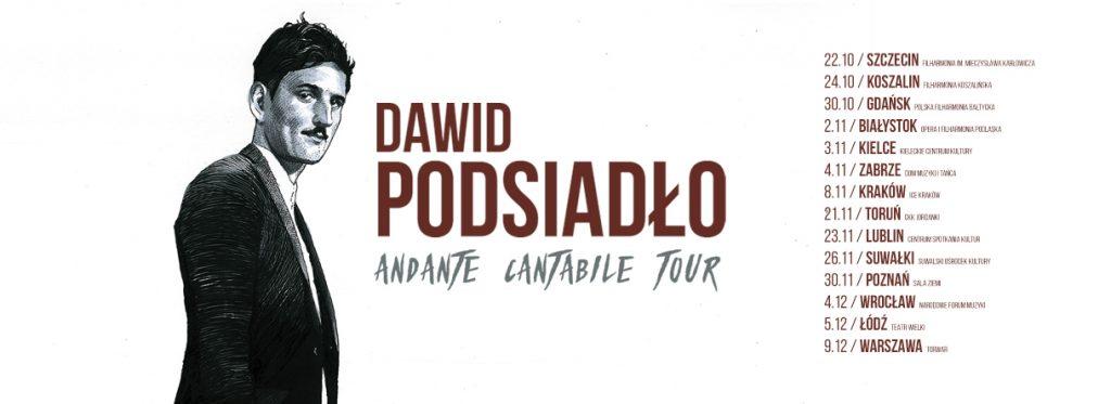 Dawid Podsiadło ogłasza trasę koncertową!