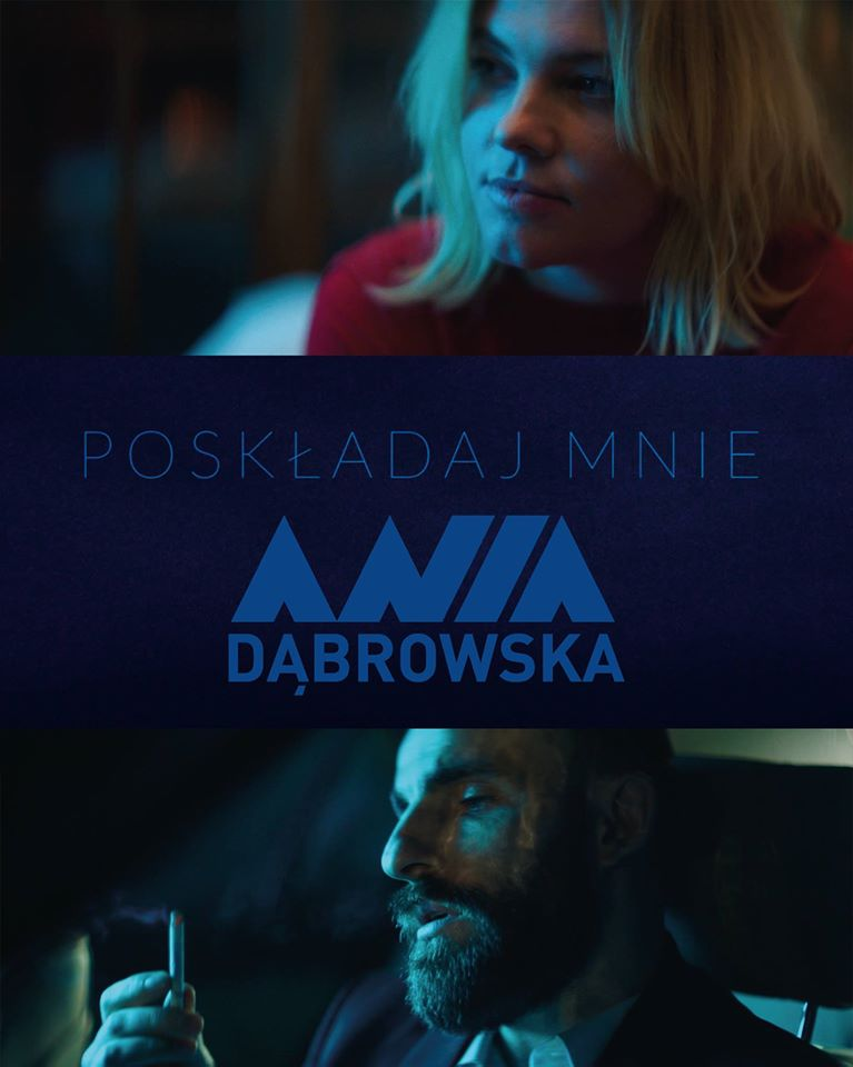 """Ania Dąbrowska prezentuje nowy teledysk! Zobacz klip do """"Poskładaj mnie""""!"""