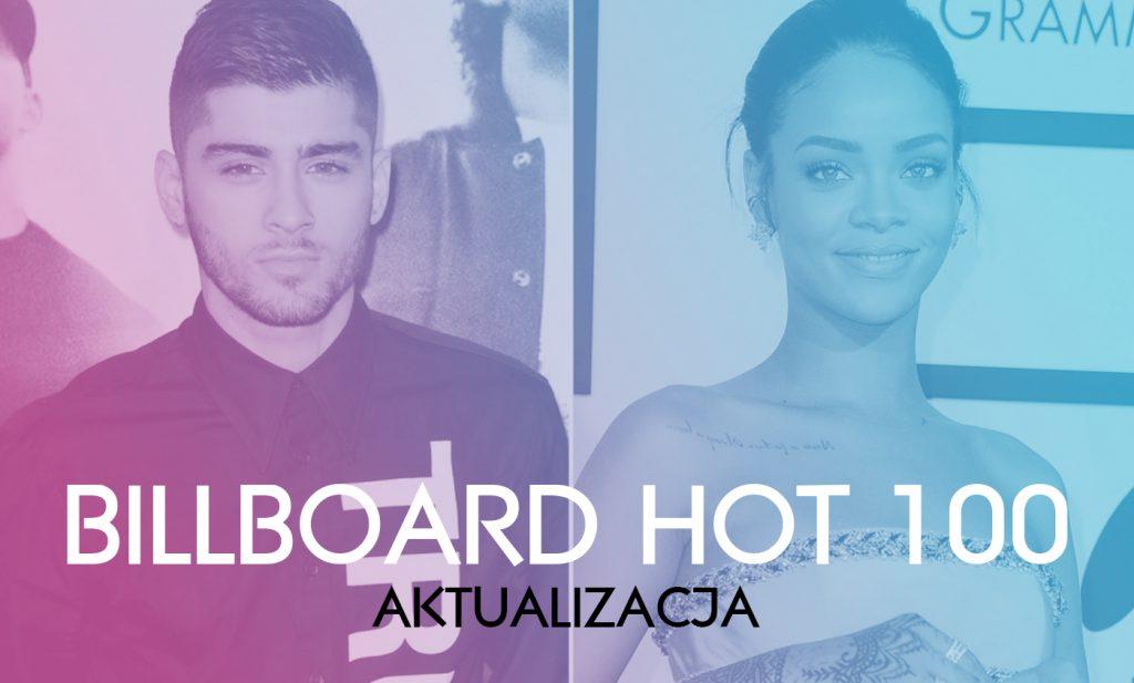 Rihanna w top 10! Katy Perry debiutuje w top 5! Zayn & Taylor Swift pną się do góry o jedno oczko! Sprawdźcie najnowsze notowanie Hot 100 już teraz!