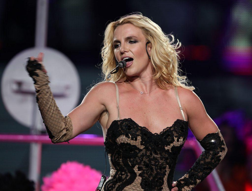 Britney Spears zaśpiewała NA ŻYWO!