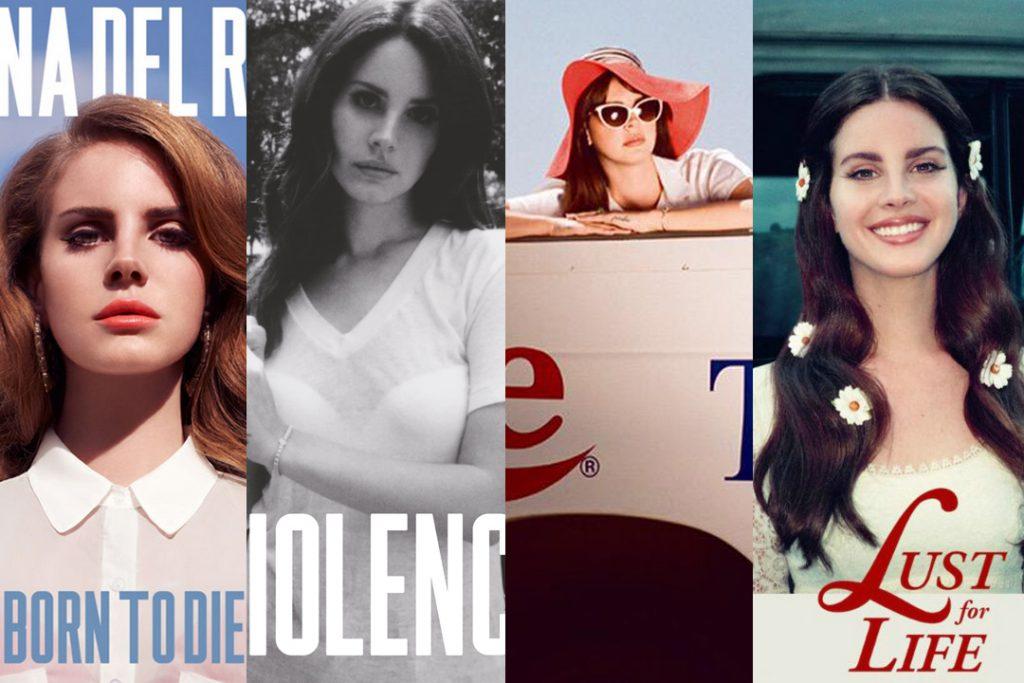 Lana Del Rey o okładkach swoich płyt