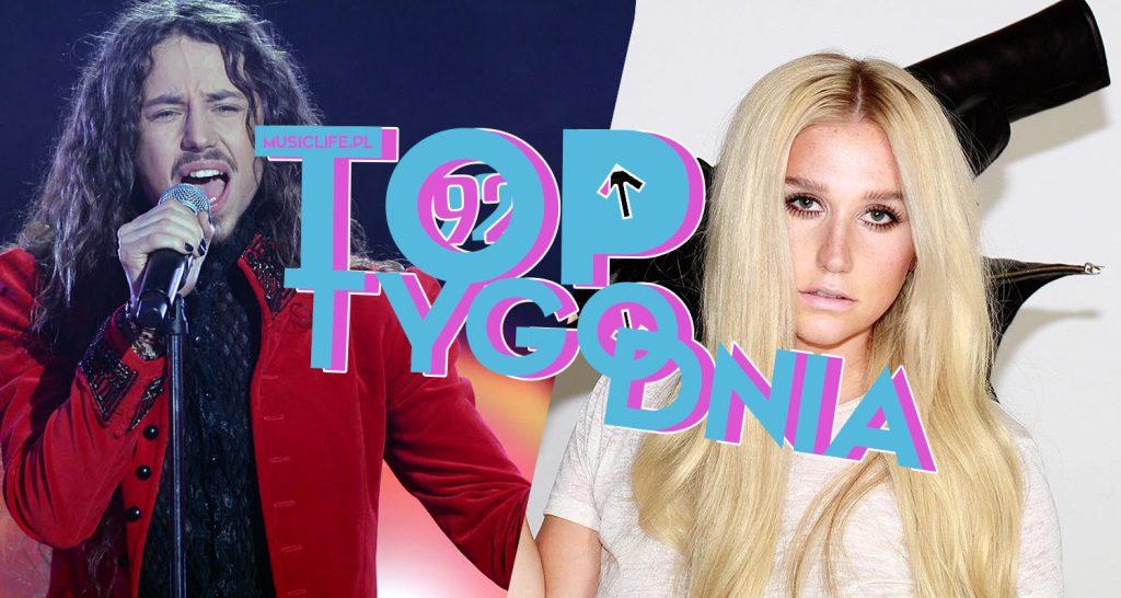 Michał Szpak wraca na szczyt! Tuż za nim Tini, top 3 zamyka Selena Gomez! Debiutuje Dua Lipa oraz Kesha! Sprawdźcie pełne, 92. notowanie TOP TYGODNIA już teraz!