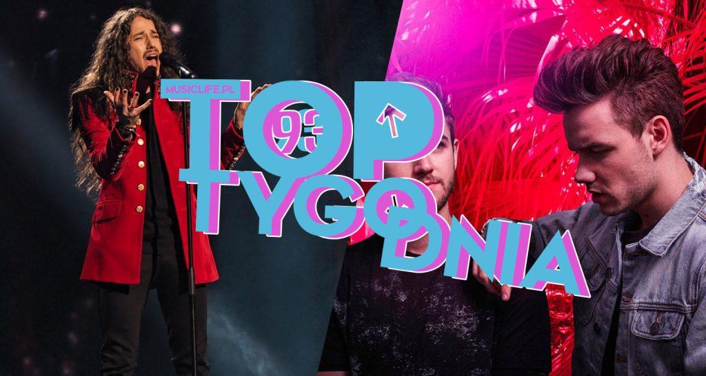Michał Szpak bez zmian na szczycie! Zedd i Liam Payne debiutują w top 10! Demi i Selena lecą w dół! Zobaczcie pełne, 93. notowanie TOP TYGODNIA!