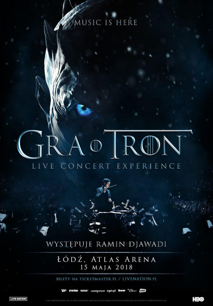 Gra o Tron Live Concert Experience po raz pierwszy w Polsce!