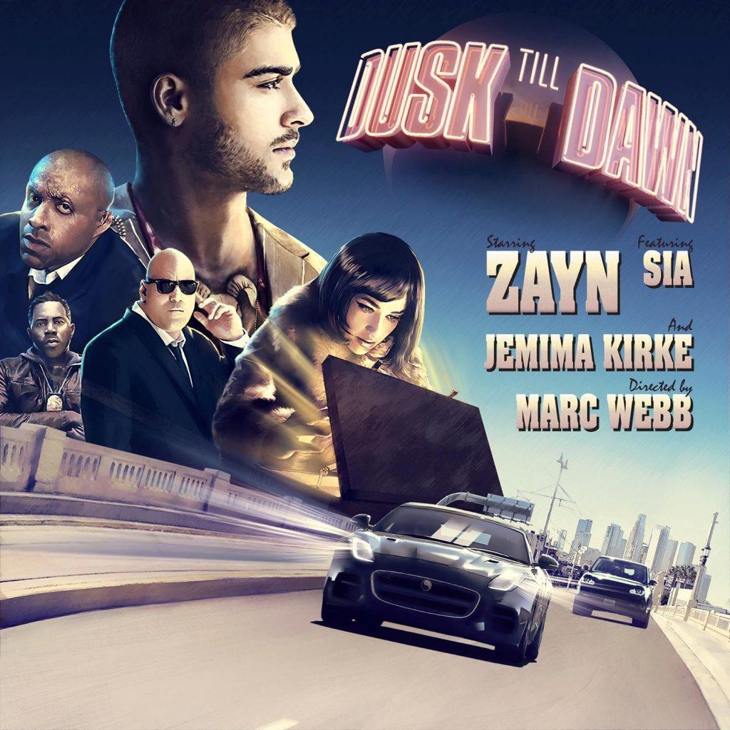 """ZAYN i Sia razem! Posłuchaj i zobacz teledysk do singla """"Dusk Till Dawn""""!"""