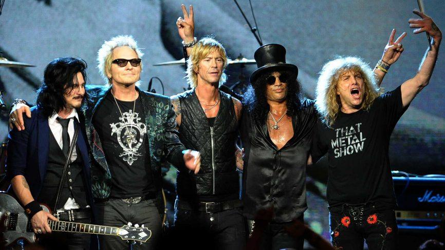 Guns N' Roses wystąpią w 2018 roku w Polsce!