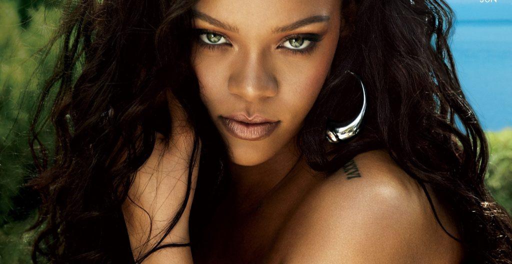 Rihanna na okładce nowego wydania magazynu VOGUE i w… makijażowym tutorialu!