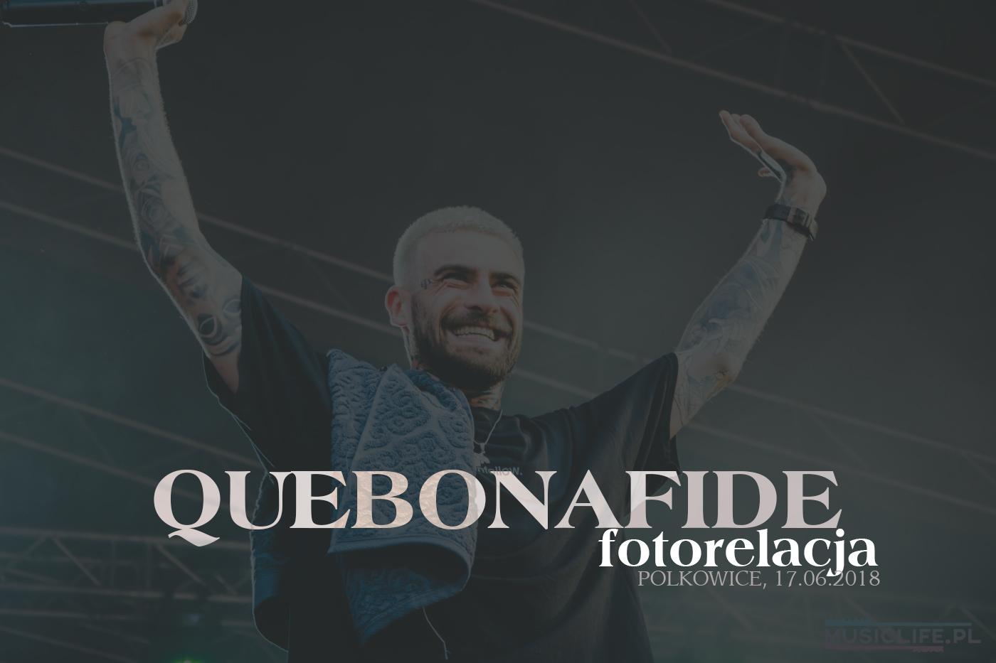 FOTORELACJA: Quebonafide na koncercie w Polkowicach! [17.06]