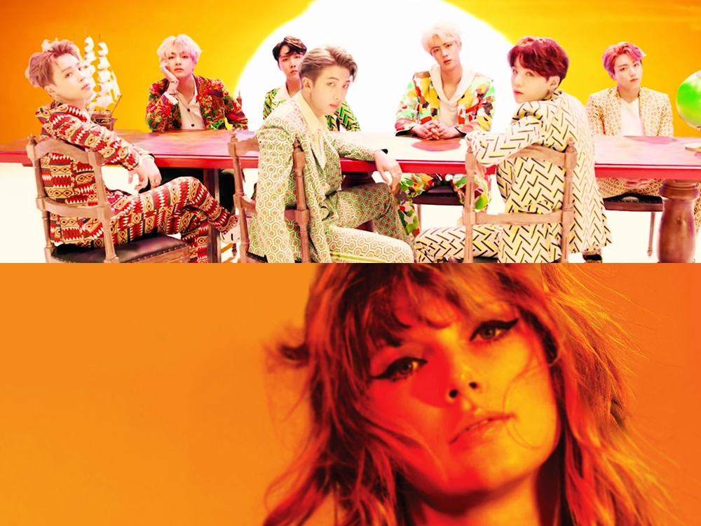 BTS w drodze do pobicia rekordu Taylor Swift!