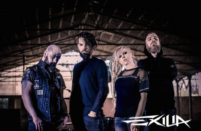 EXILIA wraca z nowym singlem. Posłuchaj ,,Feel The Fire!
