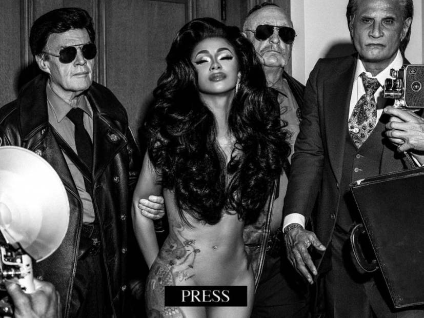 "Cardi B NAGO w klipie do singla ""Press""!"