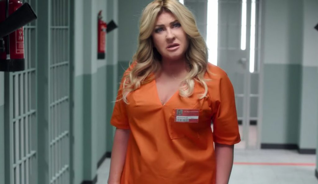 "Beata Kozidrak w spocie ""Orange is the new black"""