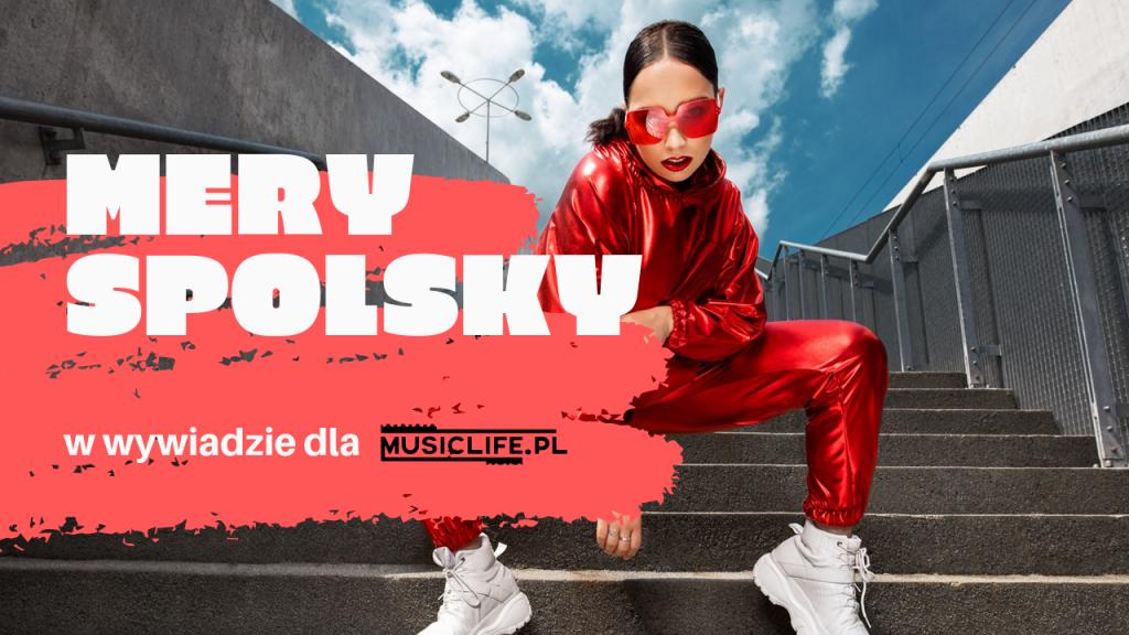 """Wywiad: ,,Stworzyłam dziesięć piosenek o dziesięciu moich życiowych zasadach. Stąd tytuł drugiej płyty """"Dekalog Spolsky"""" i jej religijna symbolika. """" – Mery Spolsky dla Musiclife.pl"""