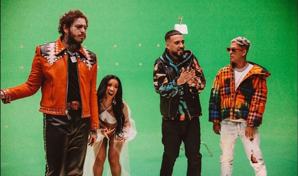 "Post Malone, Cardi B i RVSSIAN w kawałku French Montany ""Writing on the Wall""!"