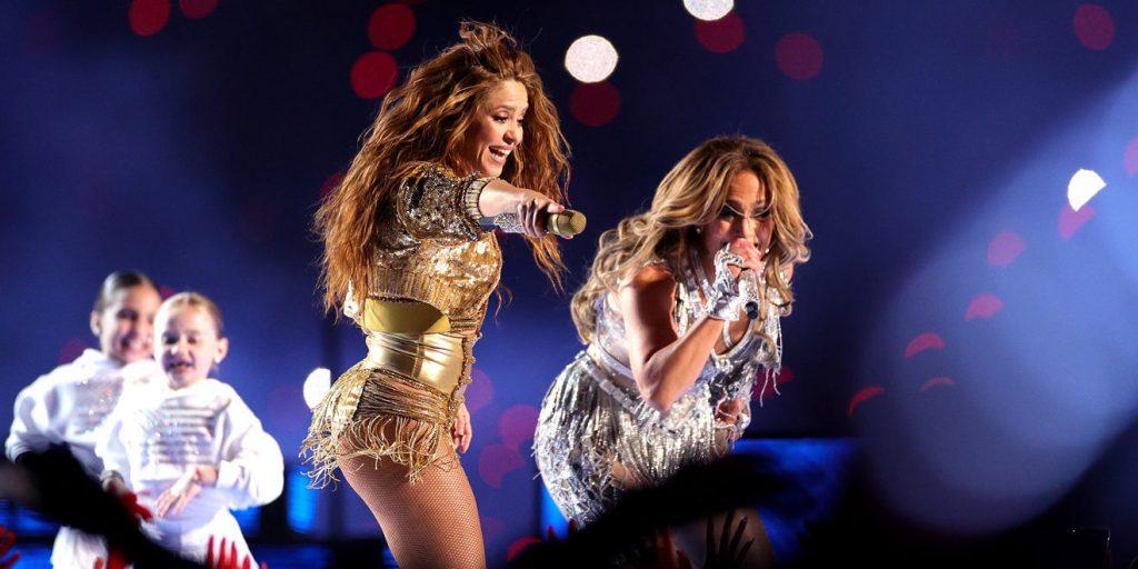 Shakira i Jennifer Lopez rozgrzały publiczność podczas SuperBowl Halftime Show!