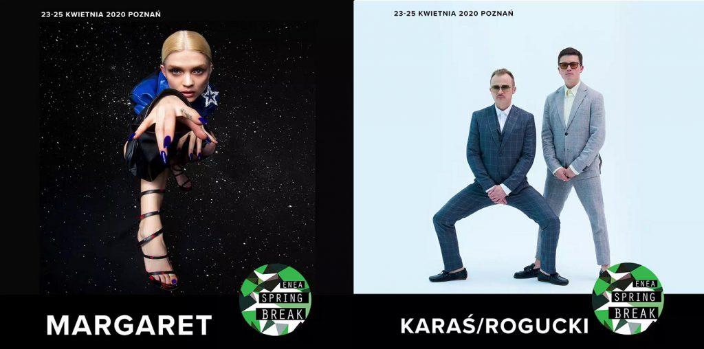 Margaret, Karaś/Rogucki i 9 innych zespołów dołącza do składu Enea Spring Break 2020!