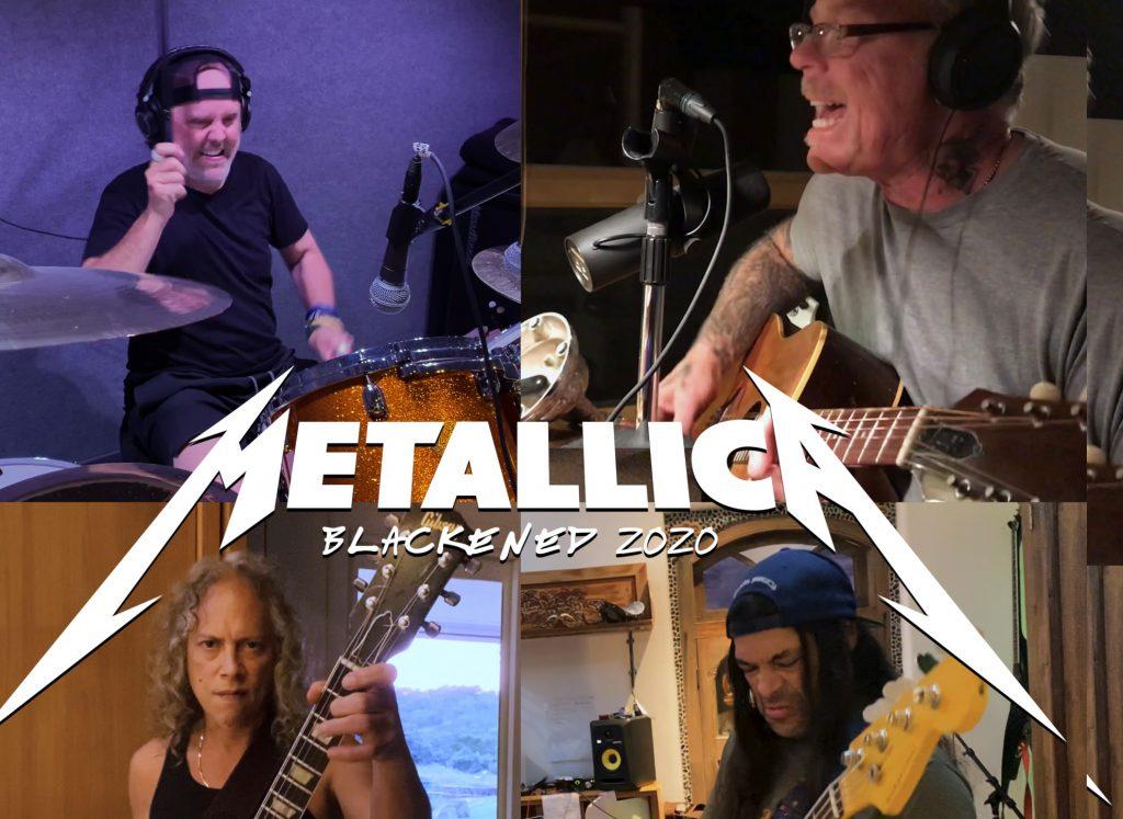 """Metallica prezentuje nową wersję """"Blackened""""!"""